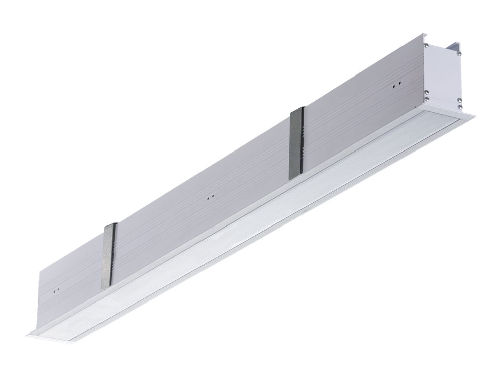 Photo LINER/R LED TH CF Recessed light lines with variable color temperature
