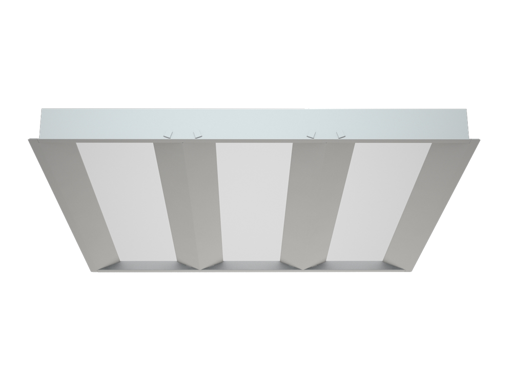 Photo WAVE ECO LED Luminaires with a diffuser