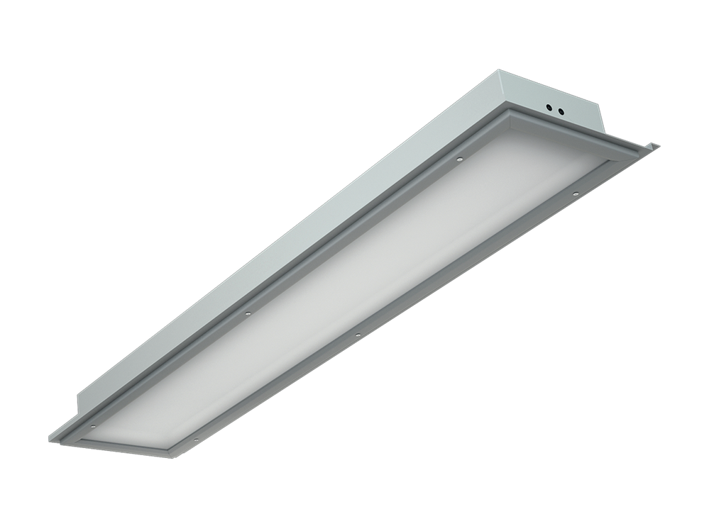 Photo ALD IP54 rated luminaire for lathed ceilings