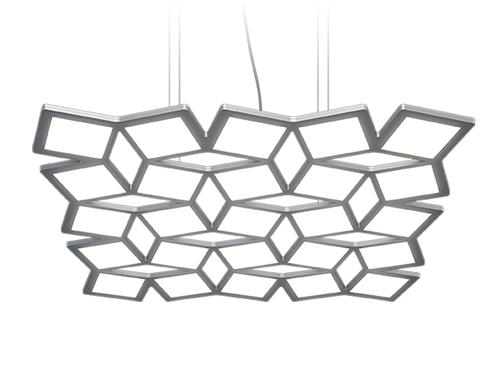 Photo MOTION OLED Suspended OLED-based luminaire