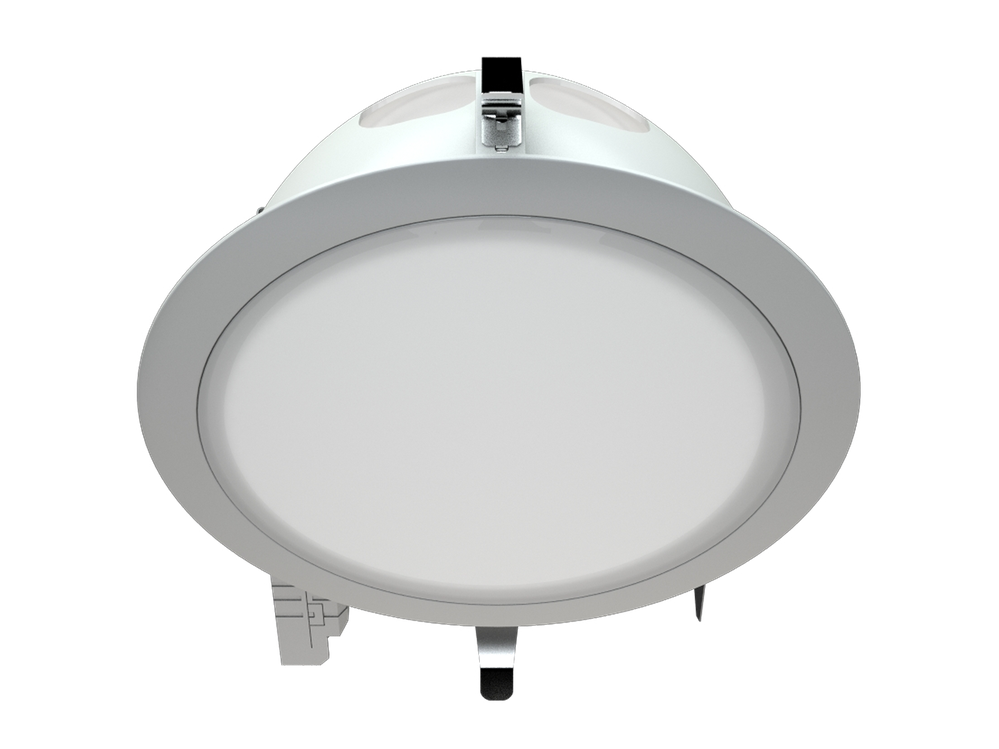 Photo DLO Directional luminaires with compact fluorescent lamps