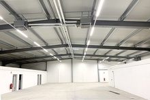 A new office- and warehouse complex of the company Dennis Böing Elektroanlage