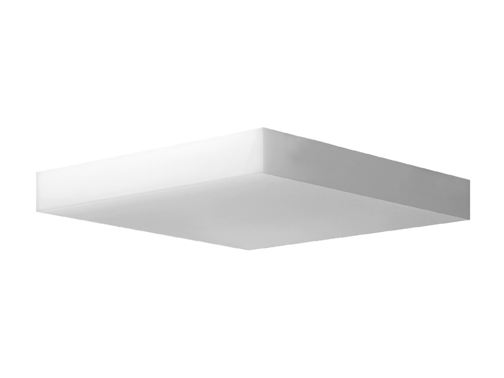 Photo IZAR SQUARE S LED Ceiling surface mounted LED luminaire