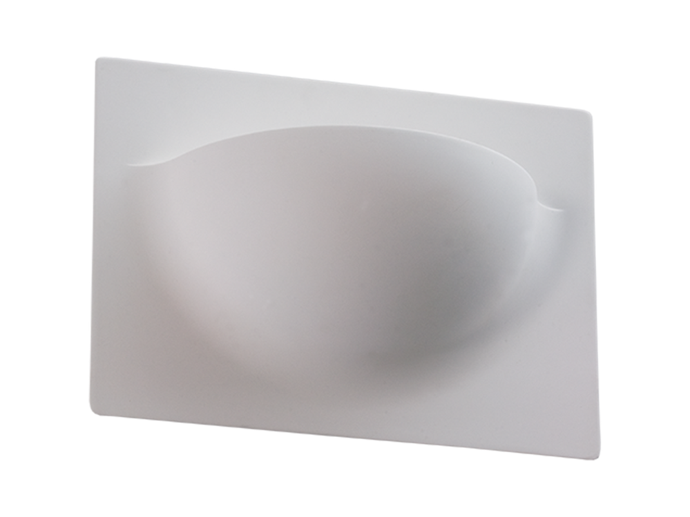 Photo PLW 003 Wall-mounted plaster luminaire