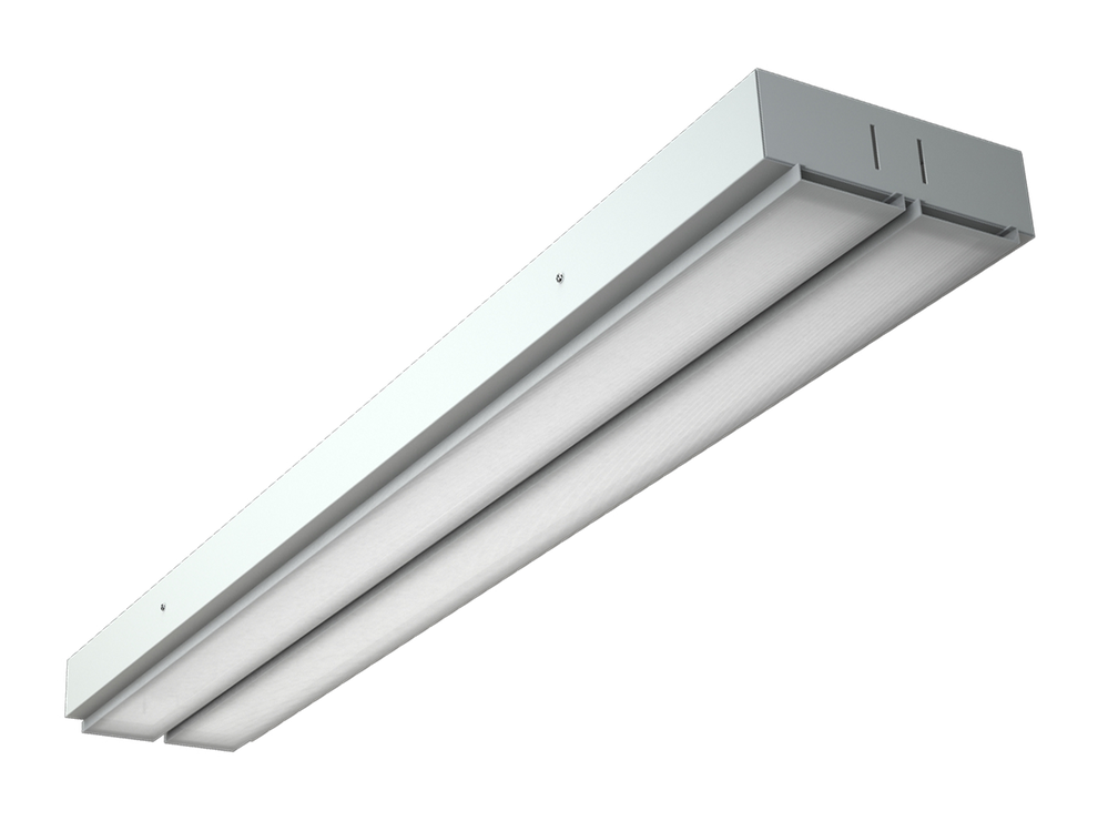 Photo ALO Luminaires for lathed ceilings with an opal diffuser
