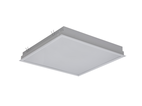 Photo OPL/R ECO LED CF ECO series luminaires with variable color temperature.