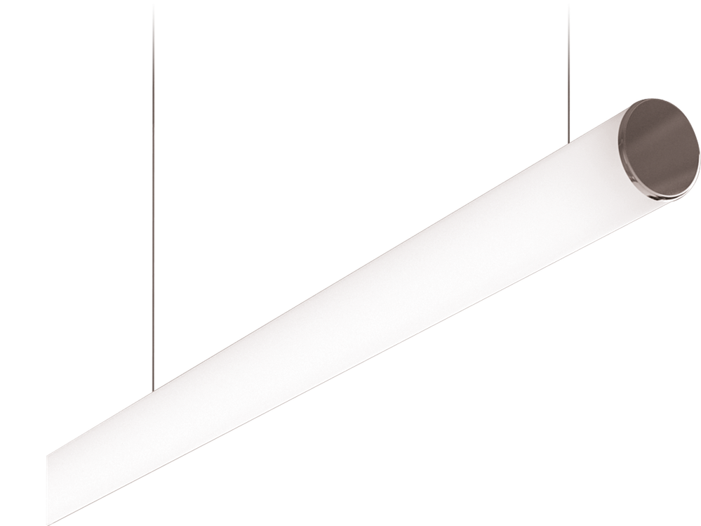 Photo Т120 Suspended profile system with a round diffuser